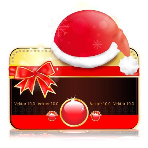 Подарочные скидочные карточки / Sale and VIP card in vector, part 7