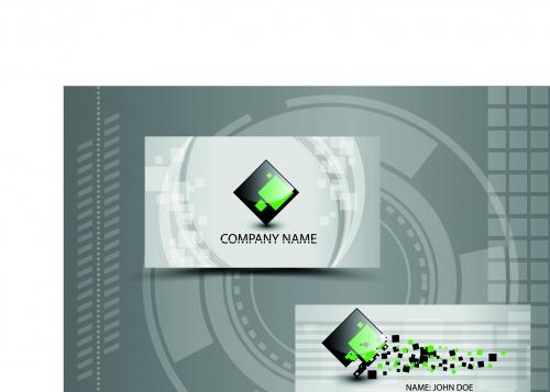 Элегантные бизнес карточки 2 | Elegant business cards vector 2