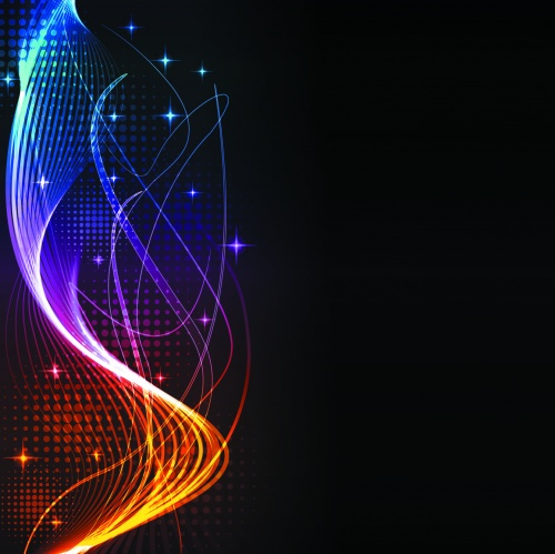 ������ ����������� ��������� ���� / Dark abstract backgrounds in vectoract_back