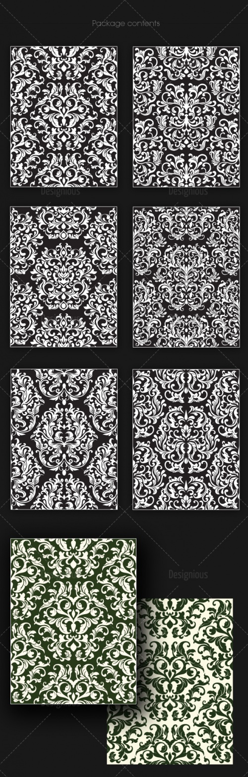 Seamless Patterns Vector Pack 142
