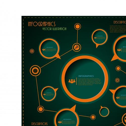 Инфографики креативный дизайн часть 63 | Infographic creative design vector set 63
