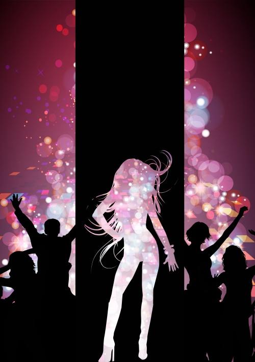 Dancing abstractions / Танцевальные абстракции