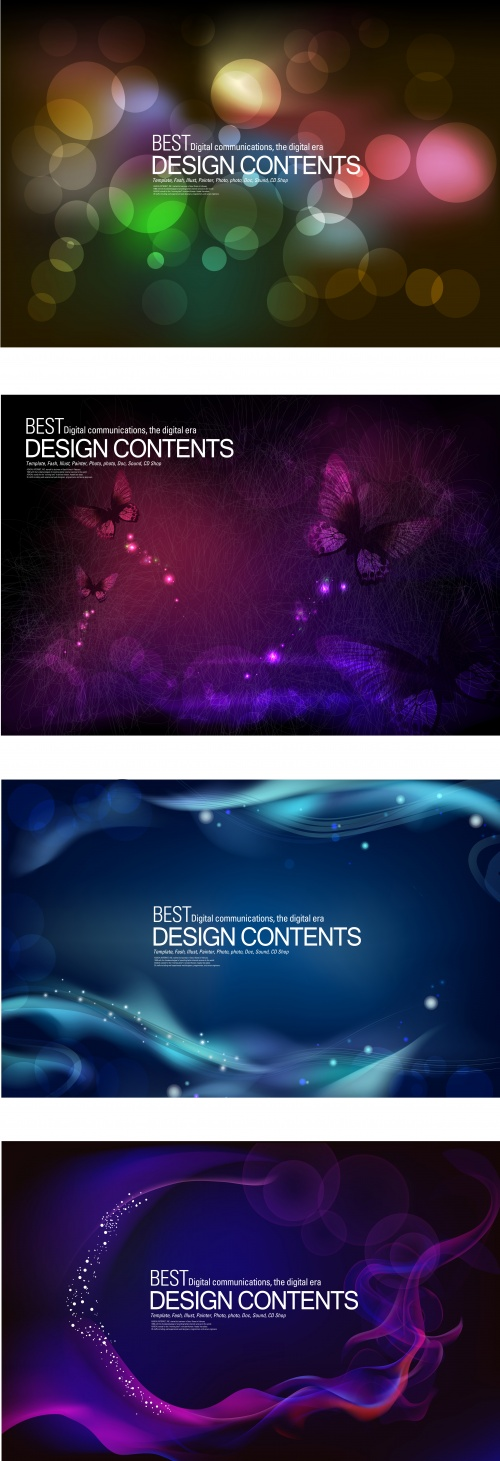 Dark abstract backgrounds 2