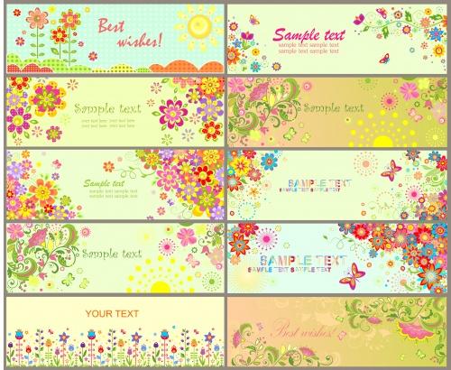 Flower cards 13