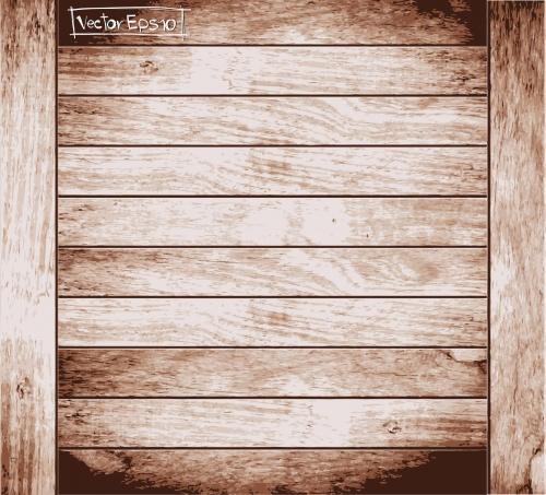 Текстура дерева - Векторный клипарт | Wooden textures - Stock Vectors