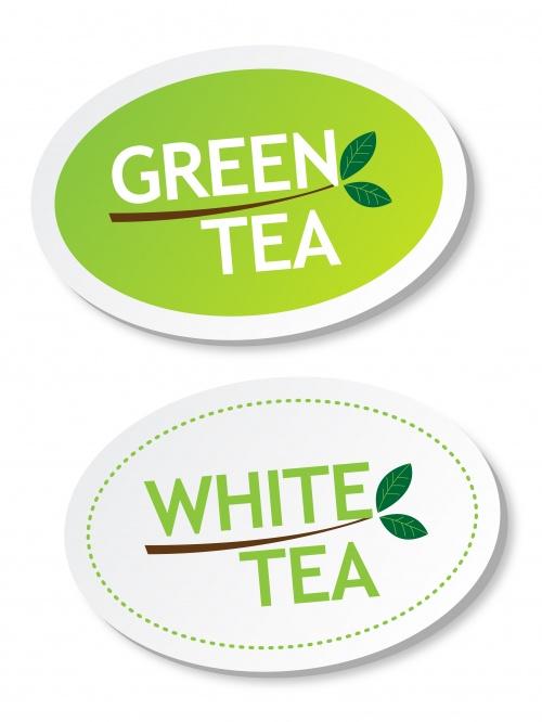 Чай. Элементы для дизайна в векторе / Tea. Elements for design in vector