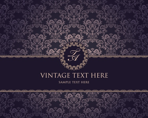 Винтажные фоны, 12 / Vintage backgrounds, part 12 - vector stock