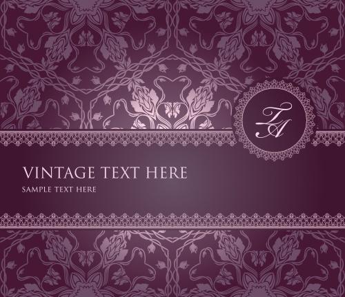 Винтажные фоны, 12 / Vintage backgrounds, part 12 - vector stock