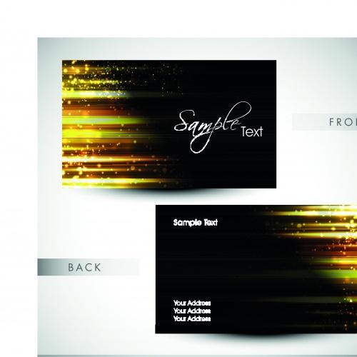 Элегантные бизнес карточки 4 | Elegant business cards vector 4