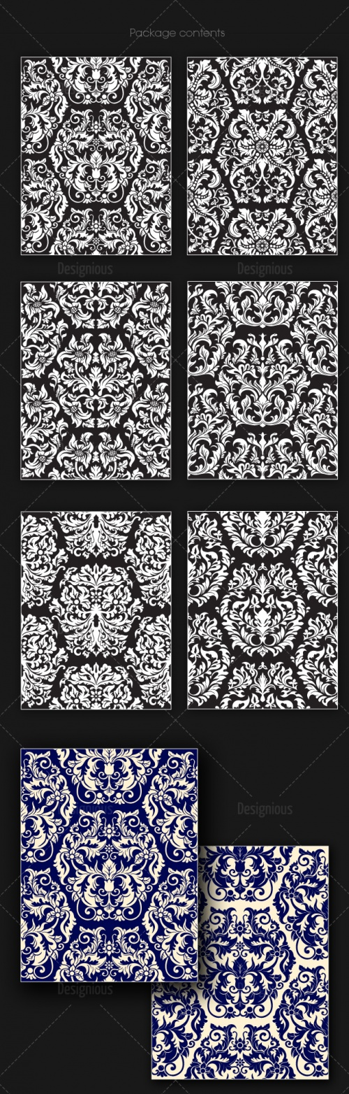 Seamless Patterns Vector Pack 149