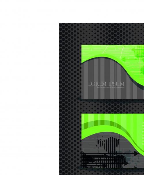 Набор элегантных бизнес карточек | Elegant business cards vector