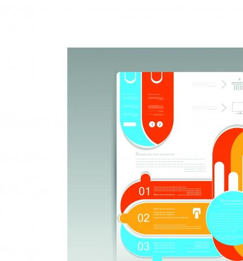 Флаеры | Flyer design content vector background