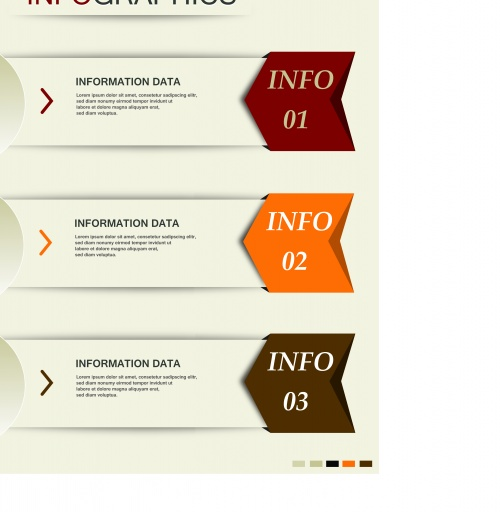Инфографики креативный дизайн часть 54 | Infographic creative design vector set 54
