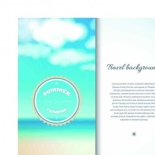 Летние баннеры | Summer banner vector