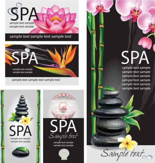 Cards for SPA salon