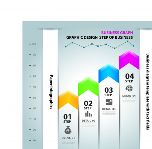 Инфографики и диаграммы часть 58 | Infographic and diagram design elements vector set 58