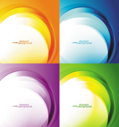 Abstract Light Backgrounds Vector