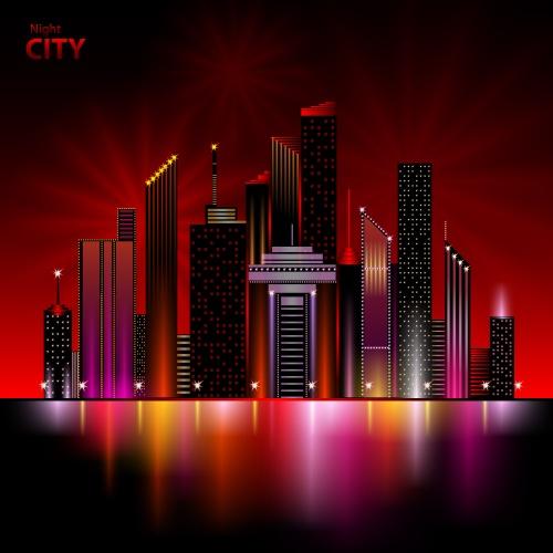 Огни ночного города / Night city, night glow