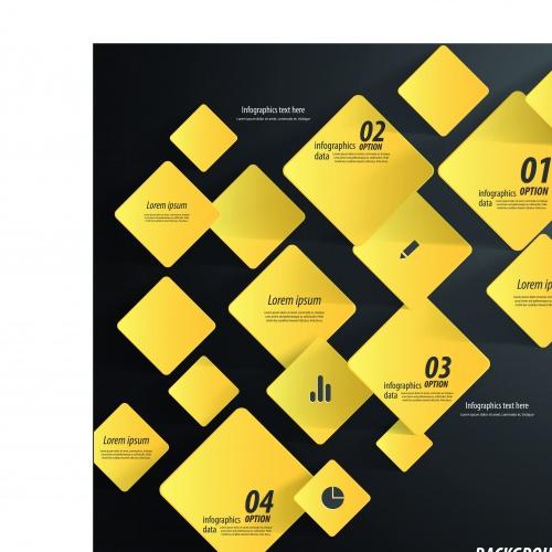 Инфографики креативный дизайн часть 53 | Infographic creative design vector set 53