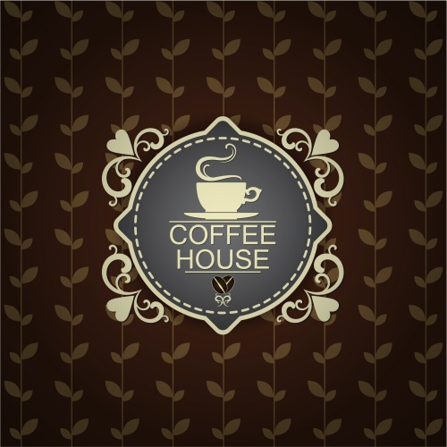 Винтажные меню для кофе бара / Vintage Menu for cofee house - vector stock