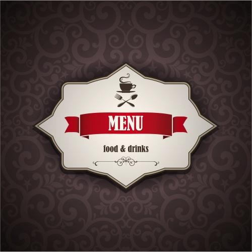 Винтажные меню для кофе бара / Vintage Menu for cofee house - vector stock