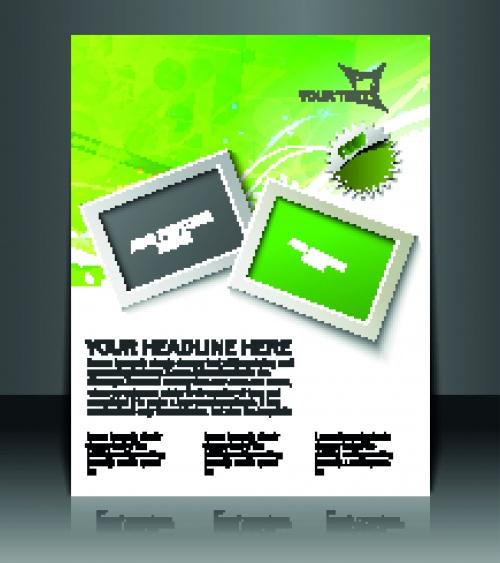 Креативные буклеты и постеры 6 | Creative booklet and poster vector 6