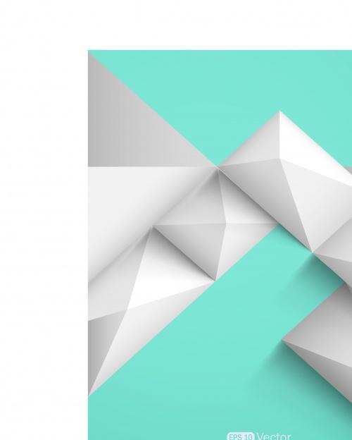 Геометрические фигуры фоны 2 | Geometric shapes vector background 2
