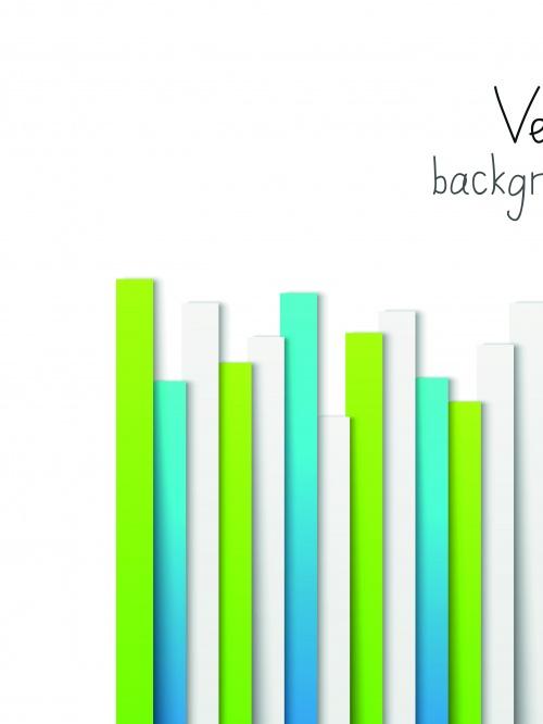 Фоны бумажные полоски | Paper strips vector background